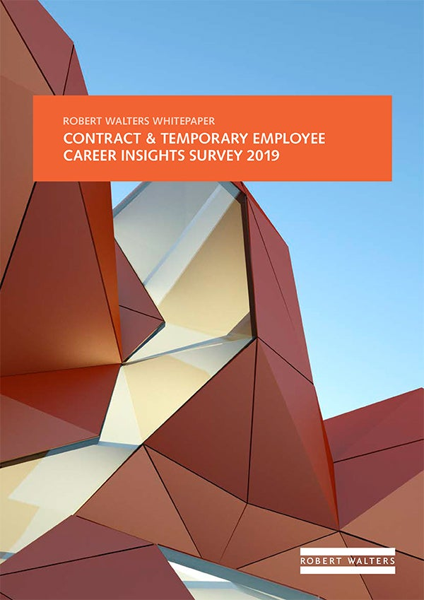 CONTRACT & TEMPORARY EMPLOYEE CAREER INSIGHTS SURVEY 2019