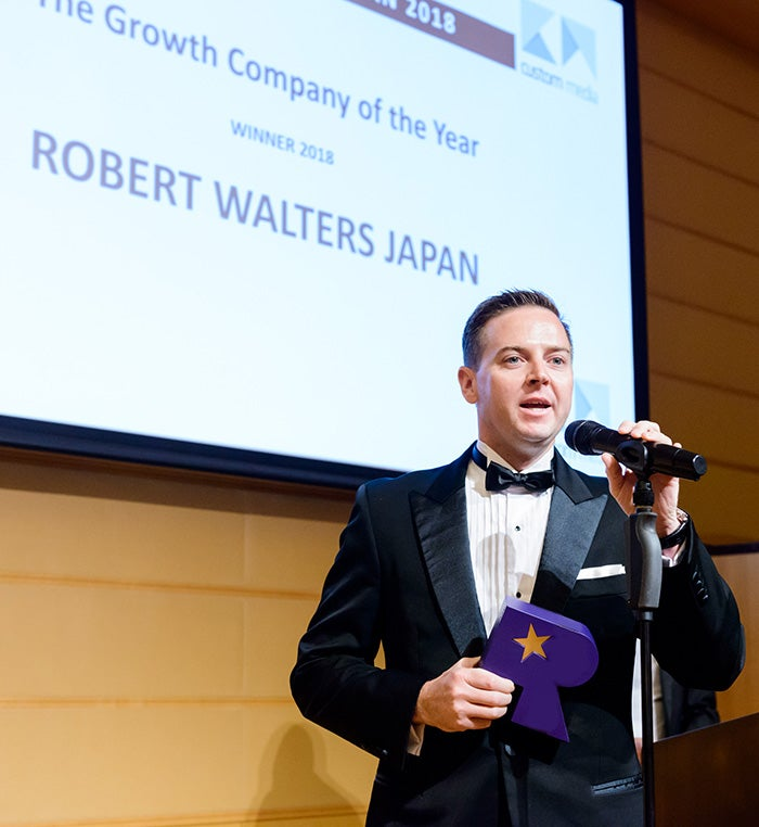 Robert Walters Indonesia: Robert Walters Japan Named The Growth Company Of The Year